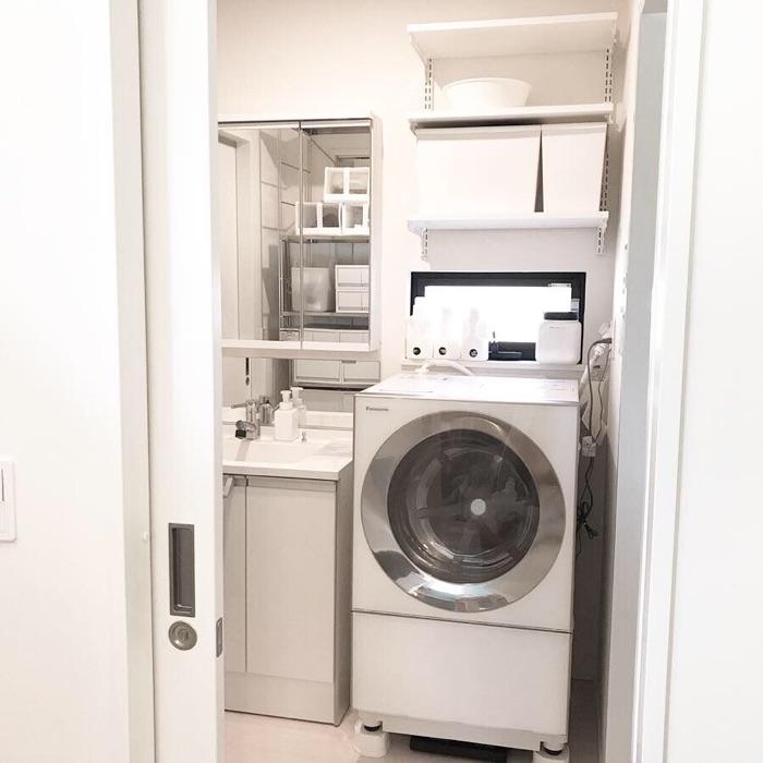 こどもの自主性を楽しみながら伸ばす、洗面所の収納方法とは NANAKOさん
