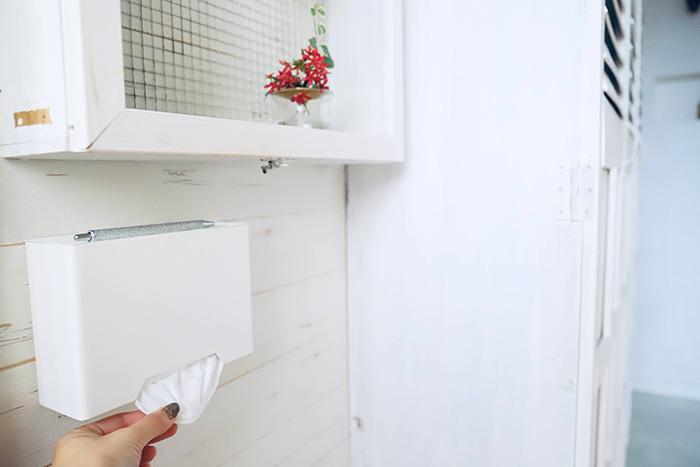 マスクの収納術Vo.2|スムーズに取れる! マスクの置き場所と収納アイデア実例
