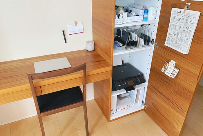 リモートワーク収納術|仕事道具を整える! 快適なホームオフィスのための収納アイデア実例
